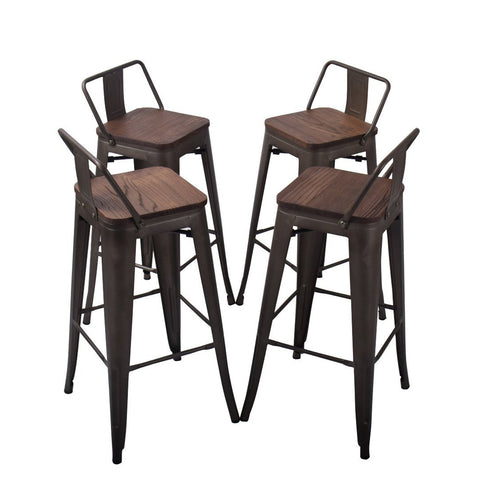 Pair these pub stools with any bar