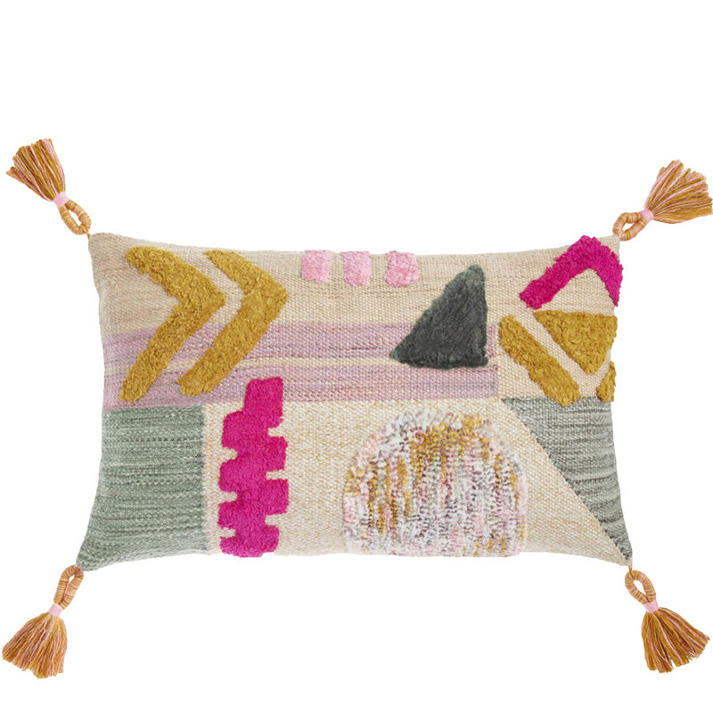 Geometric Lumbar Pillow