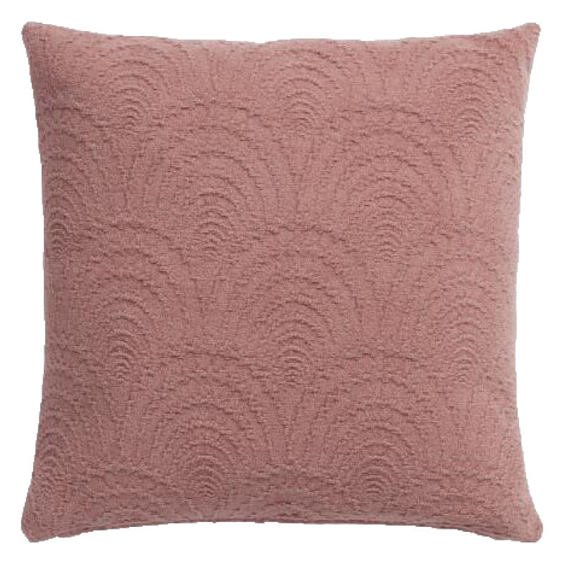 rose accent pillows luxurious blush color