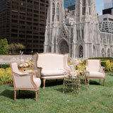 french beige country furniture rentals brooklyn