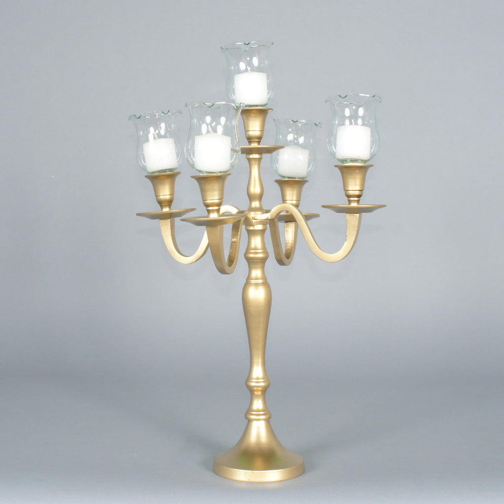 Gold Candelabra rentals for New York events