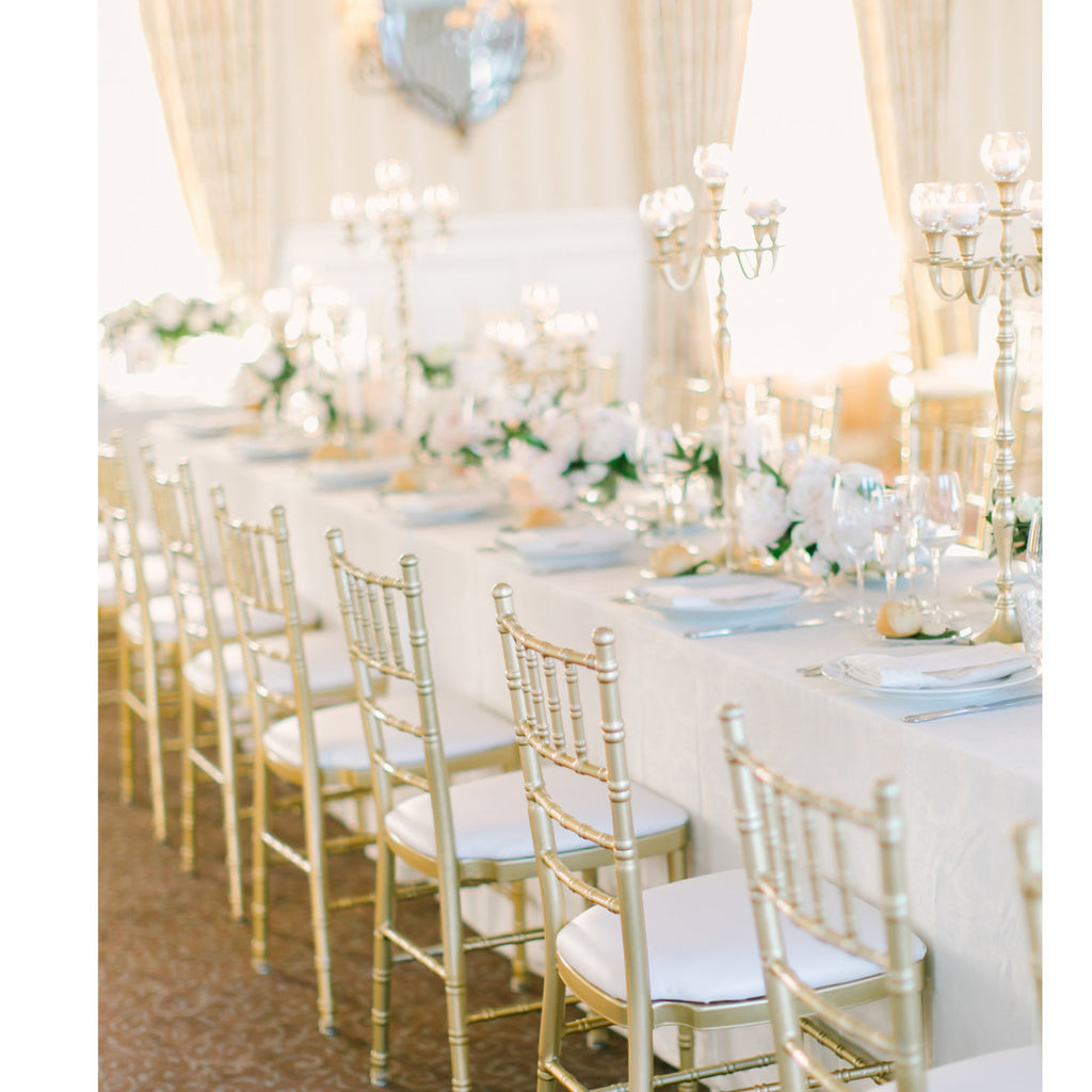 Rent candelabras for NYC weddings