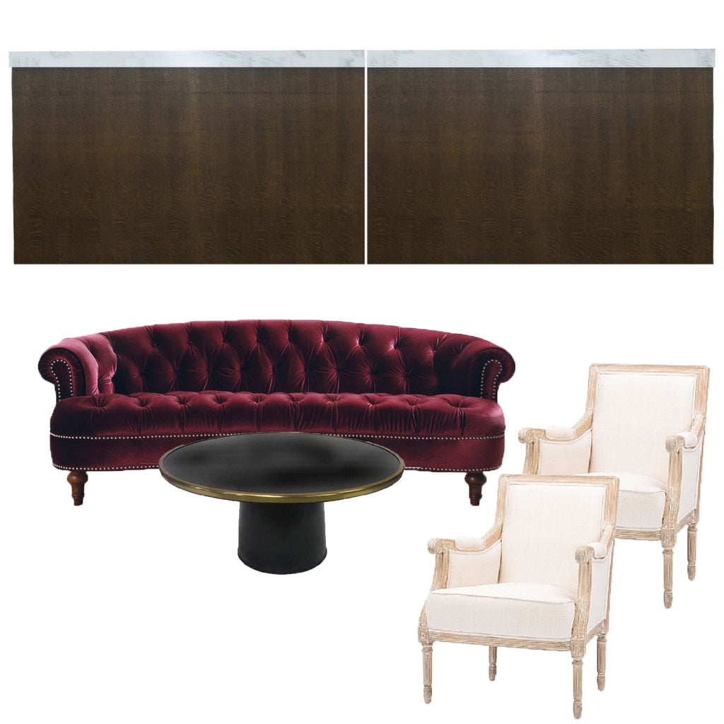 Cocktail furniture for NYC events