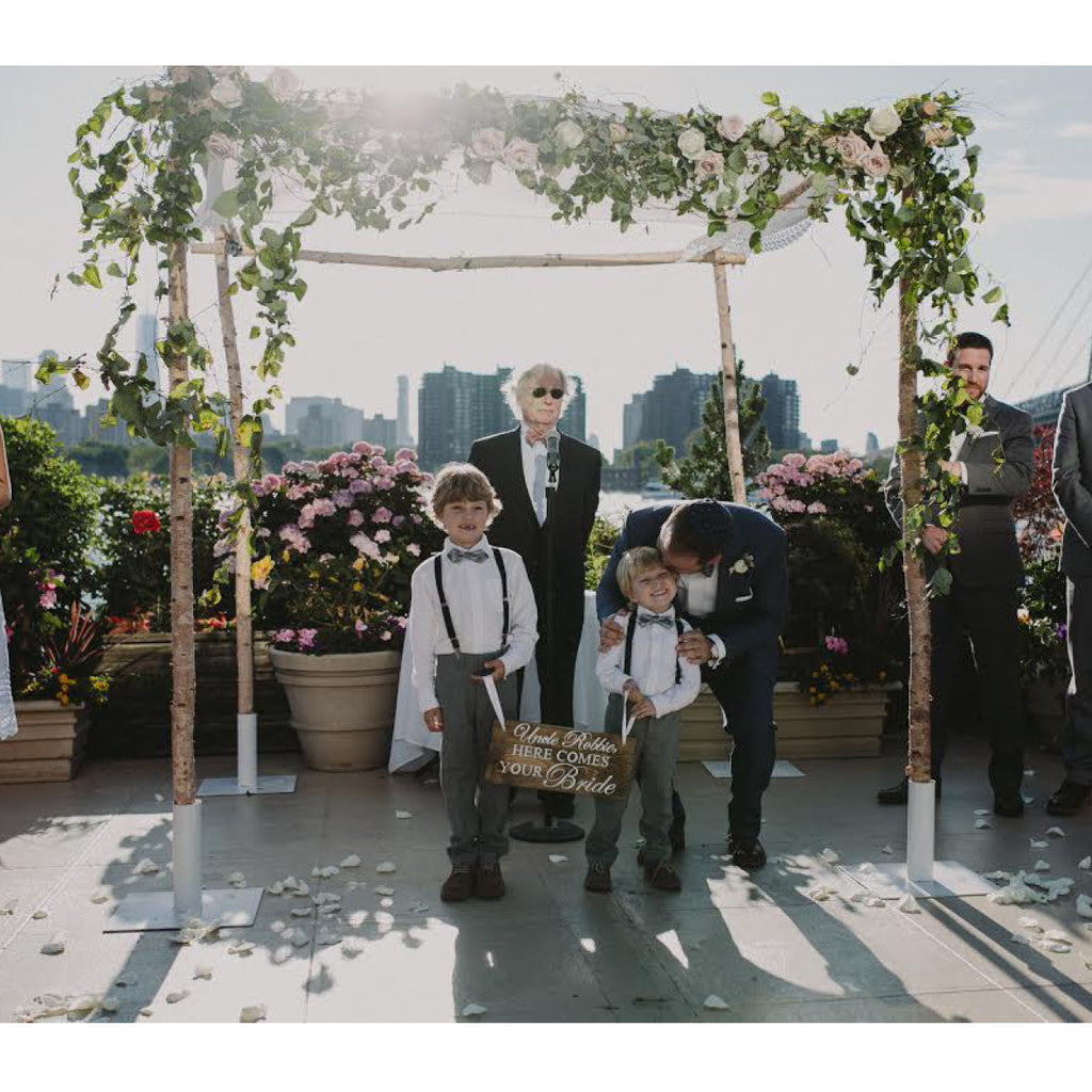 Rent a chuppah for New York weddings