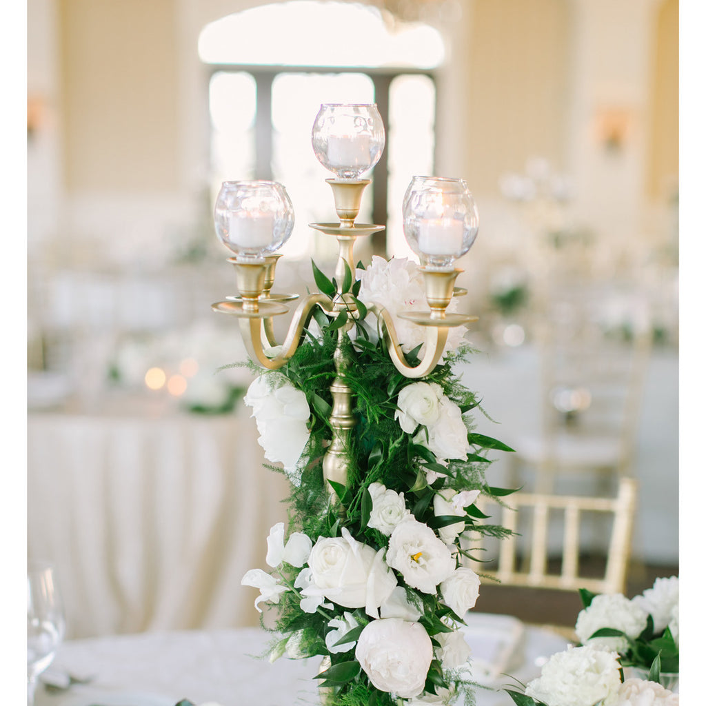 Candelabras for wedding centerpieces
