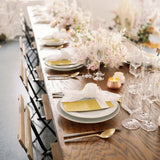 contemporary table rentals and decor nyc events