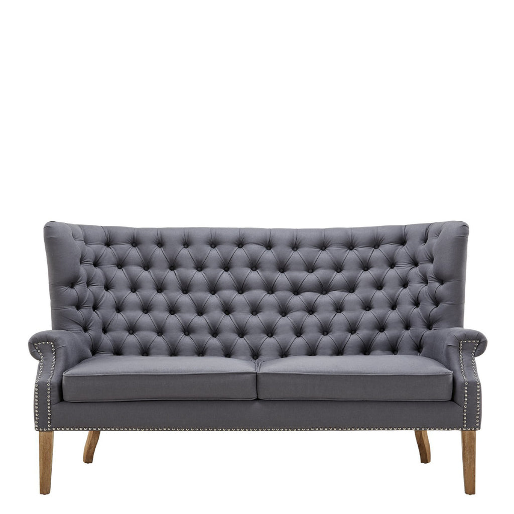 Wingback sofa rentals for New York events