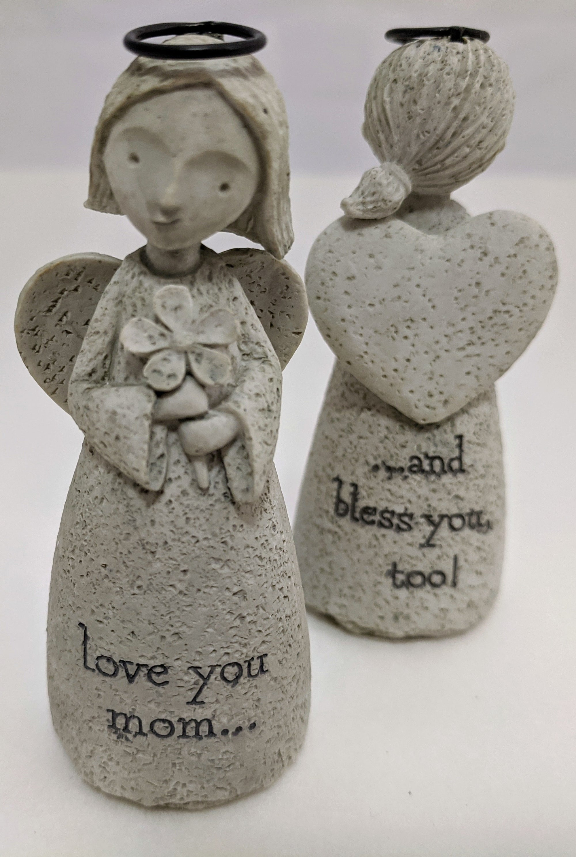 Angel Figurines for mom/grandma
