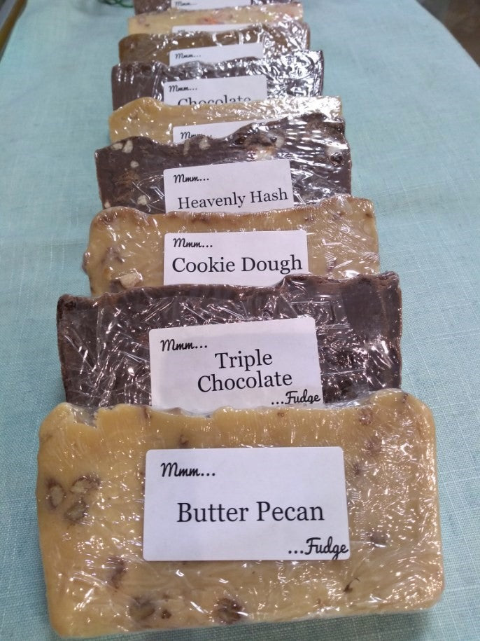 Bargain Bin Fudge: Choc Nut