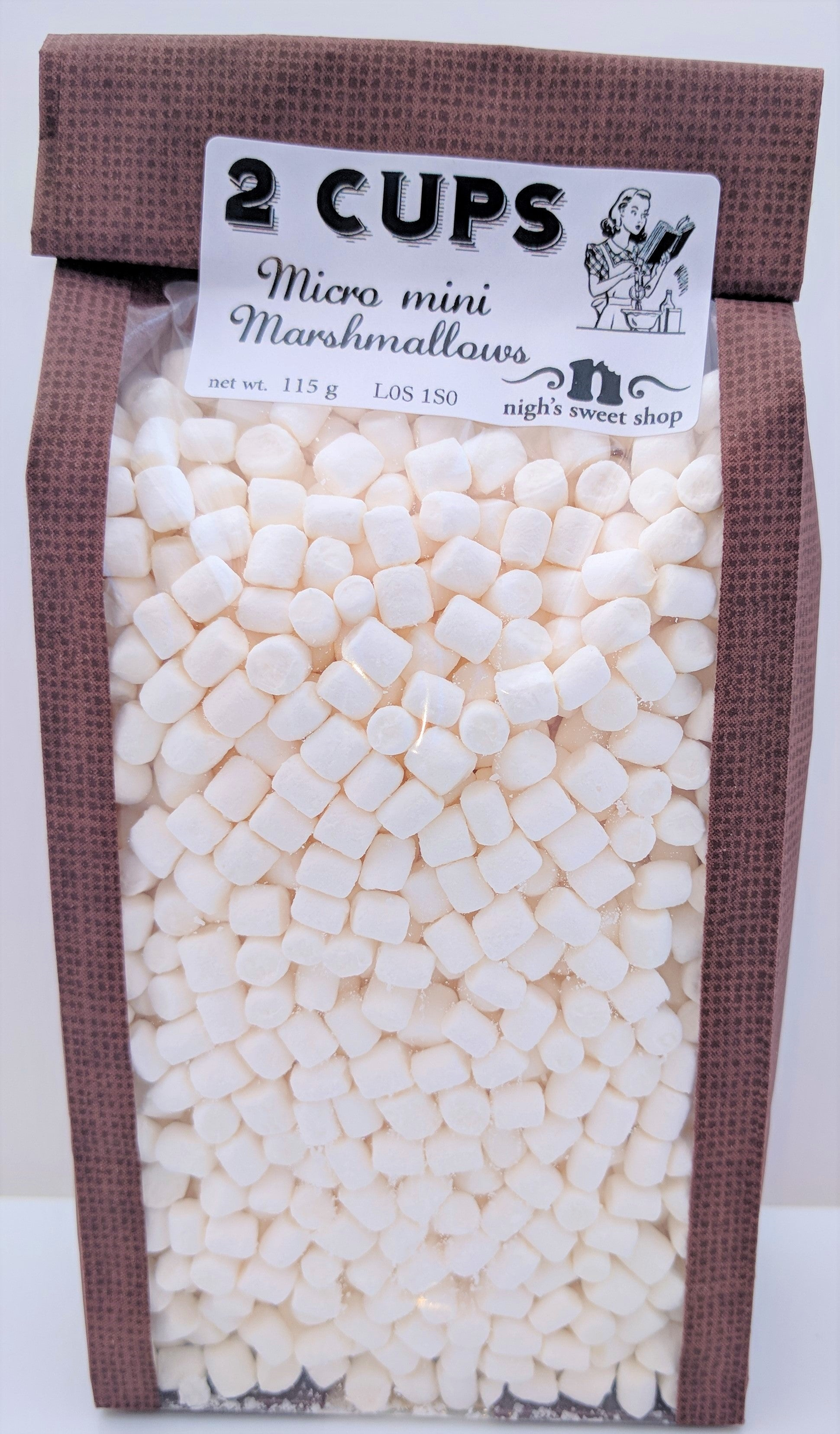 Micro Mini Marshmallows, 115g