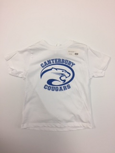 Youth Canterbury Cougars White TShirt