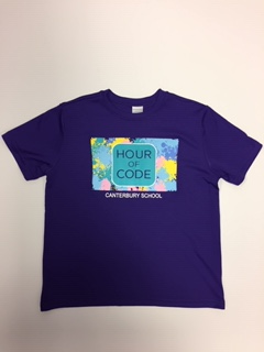 Adult Hour of Code Sport Tek Tee
