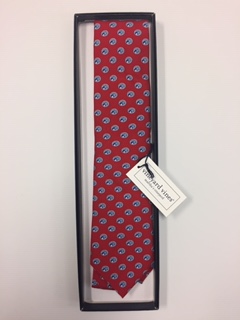Cougar Red Vineyard Vines Tie
