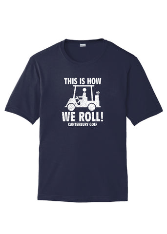 "Youth Sport Tek ""This is How we Roll"" Golf Tee"