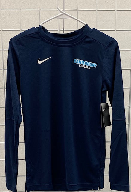 Adult Men's Nike Navy Long Sleeve
