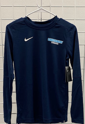 Adult Ladies Nike Navy Long Sleeve
