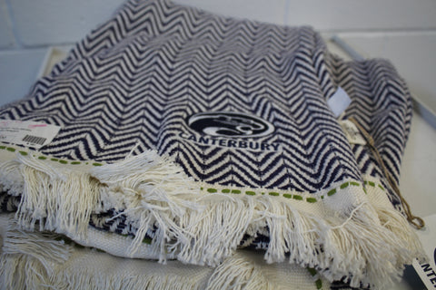 Canterbury Chevron Throw Blanket