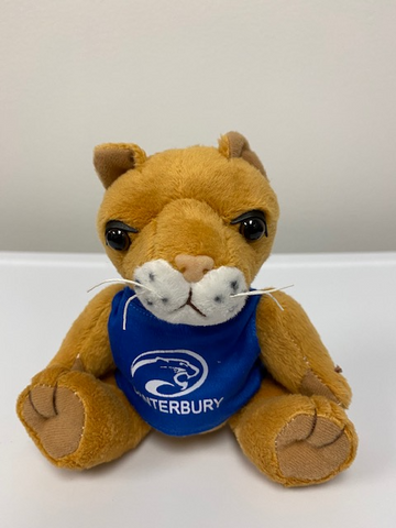 Stuffed Cougar Mascot Plush Toy