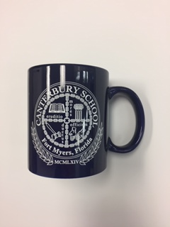 Canterbury School Navy Coffee Mug