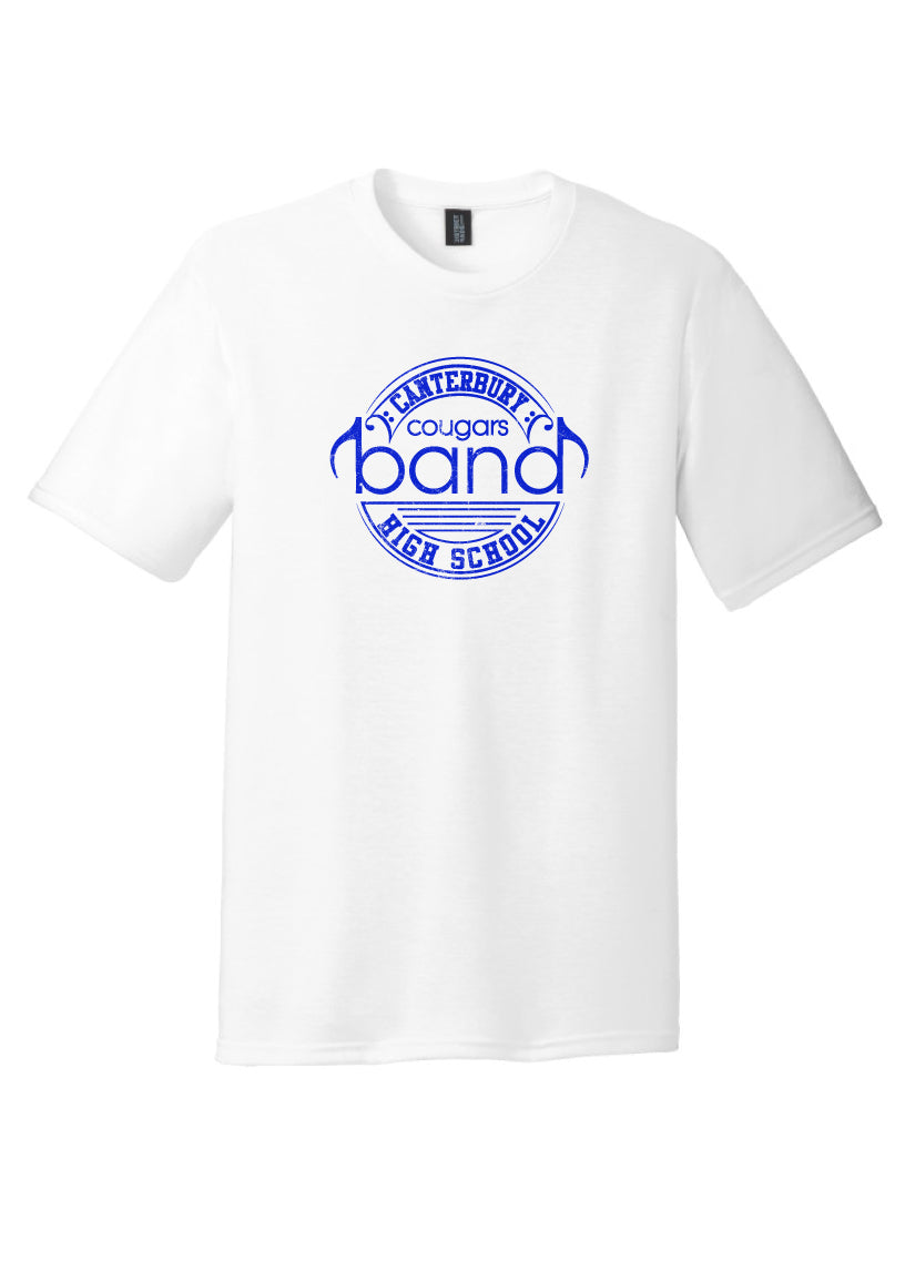 Adult Unisex White Band Tee