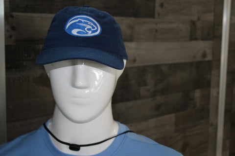 Cougar Hat Navy and Royal