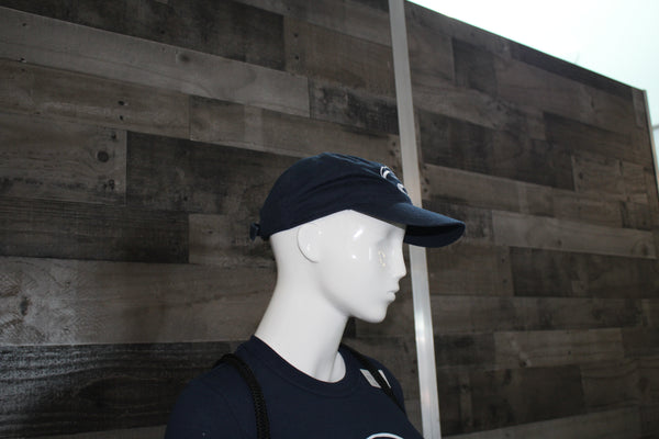 Cougar Hat - Navy and White