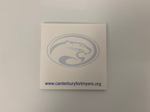 Canterbury Sticky Note Pad