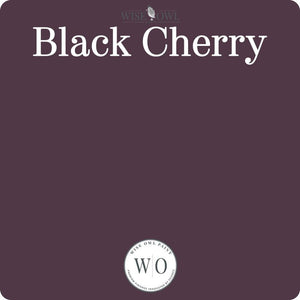 Wise Owl Chalk Synthesis Paint - Black Cherry