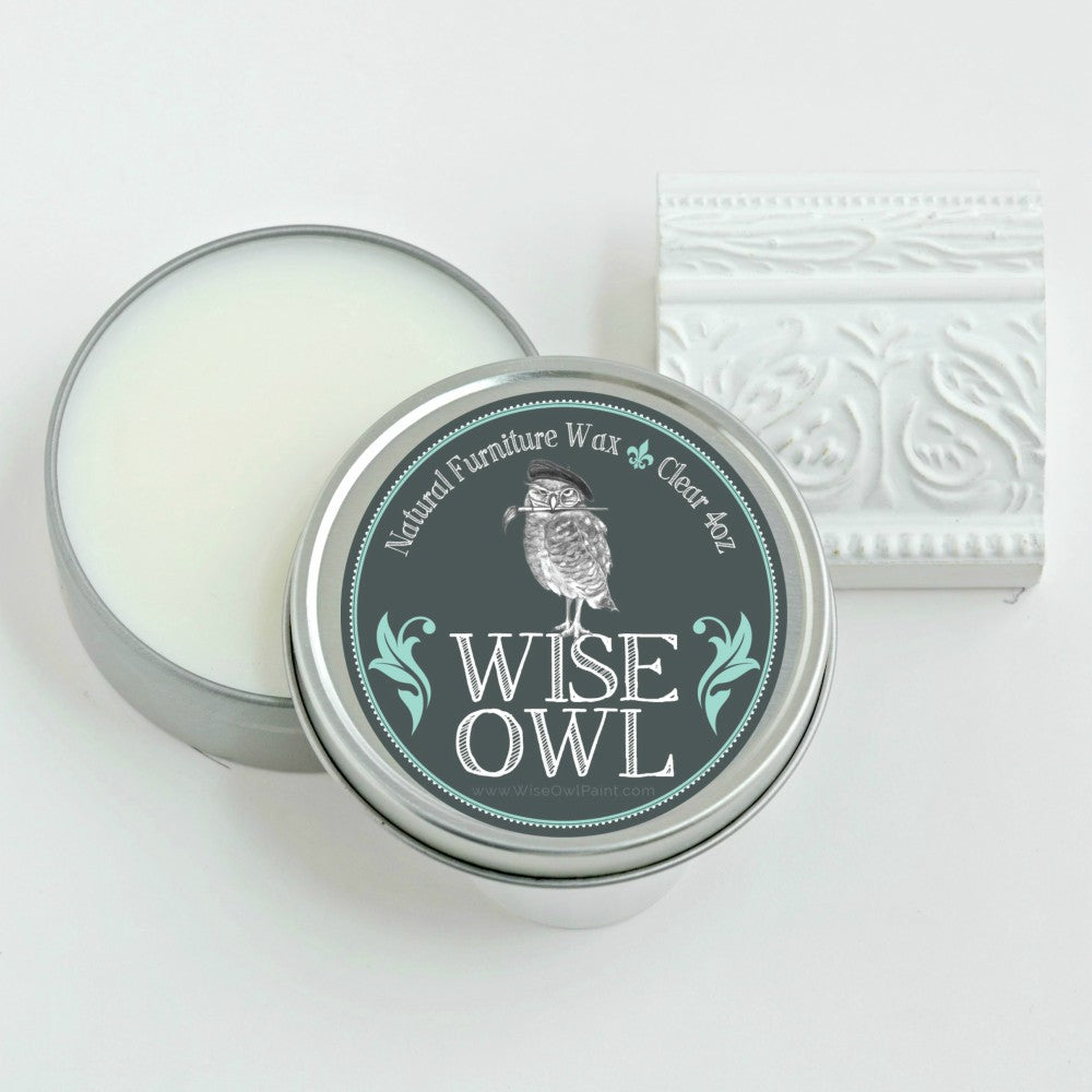 Wise Owl Furniture Wax - Clear