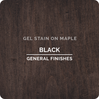 General Finishes Gel Stain - Black