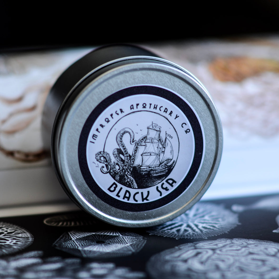 Improper Apothecary Candles - Black Sea
