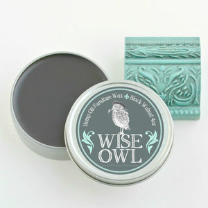 Wise Owl Furniture Wax - Black Walnut