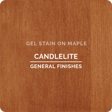 Load image into Gallery viewer, General Finishes Gel Stain - Candlelite