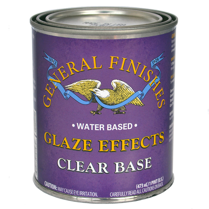 General Finishes Glaze Effects  - Clear Base Pint