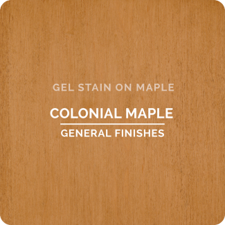 General Finishes Gel Stain - Colonial Maple