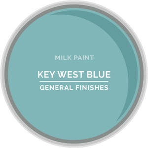 General Finishes Milk Paint - Key West Blue