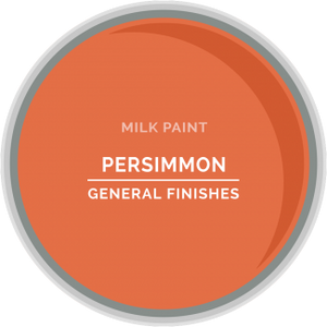 General Finishes Milk Paint - Persimmon
