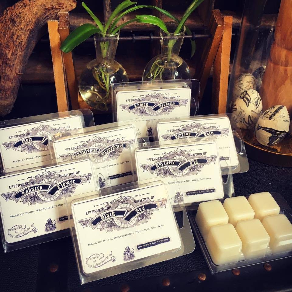 Improper Apothecary Wax Melts - Black Sea