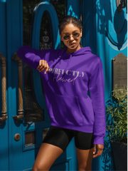 Perfectly Flawed Purple Hoodie