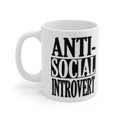 Antisocial Introvert Coffee or Tea Mug