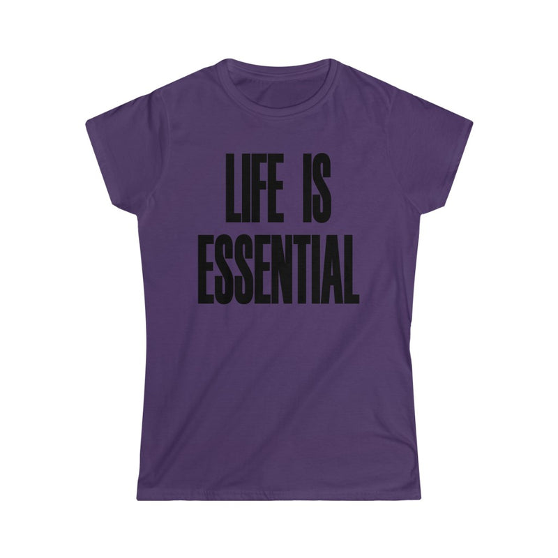 Life is Essential T-Shirt, Purple
