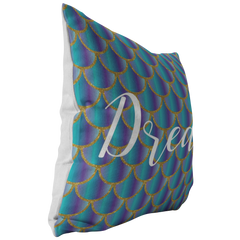 Mermaid Scales, Dream Throw Pillow