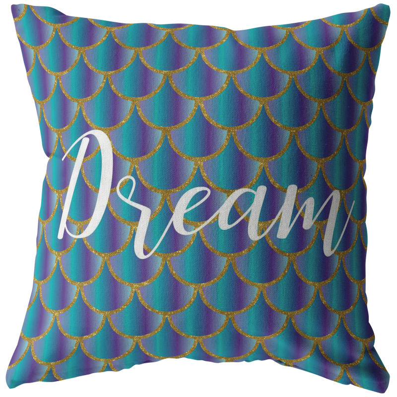 Mermaid Scales Pillow