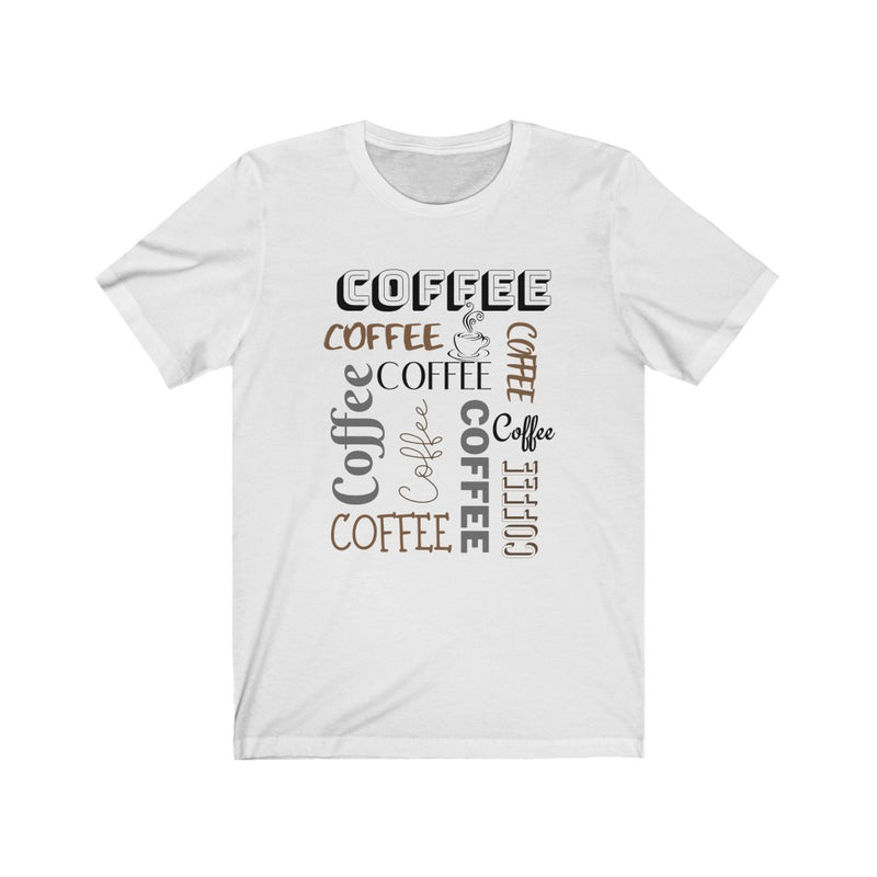 Coffee Lovers Short Sleeve Tee