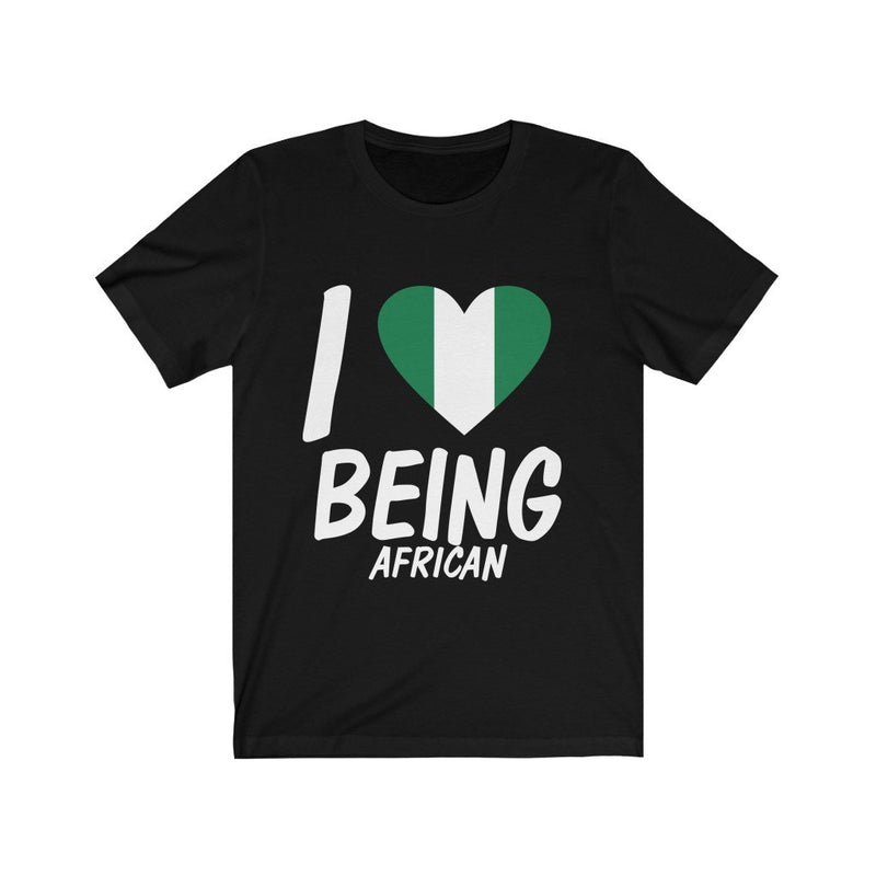 Black I love being African, Nigeria shirt