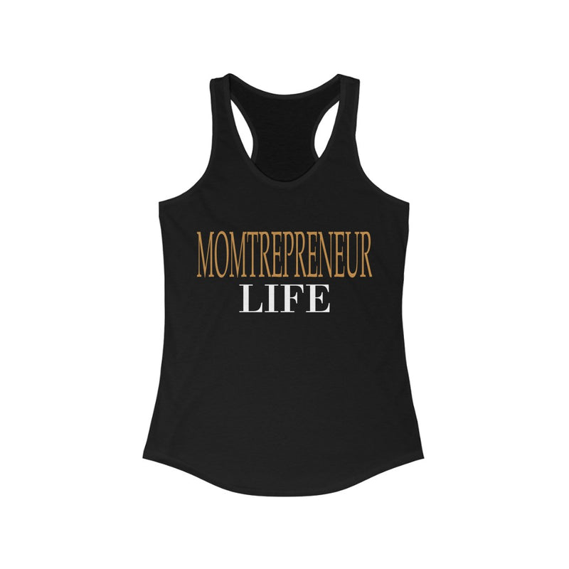Momtrepreneur Life Tank Top, Black