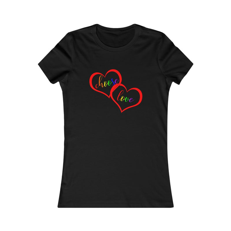 Black Choose Love lgbtq Pride T-Shirt