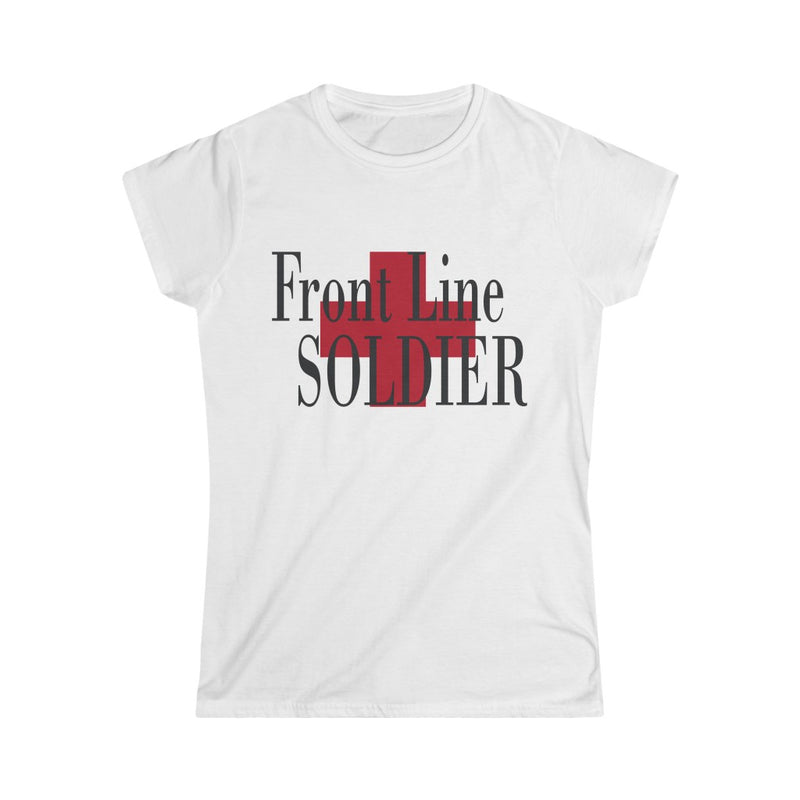 Front Line Soldier T-Shirt, White
