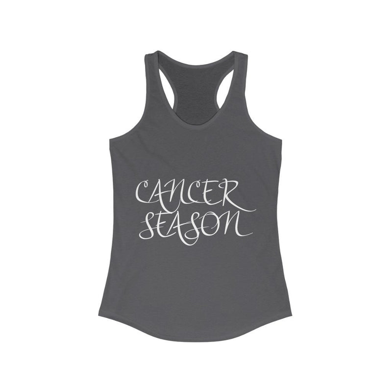Cancer Season Women's Ideal Racerback Tank