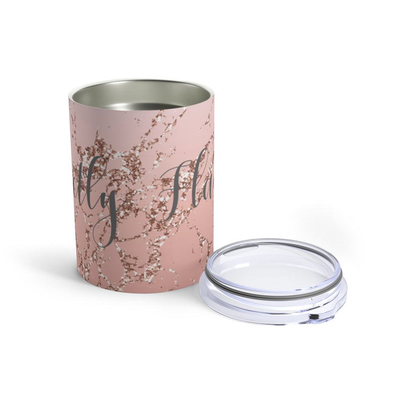 Rose Gold Perfectly Flawed Tumbler, 10oz
